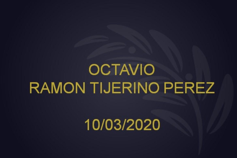 OCTAVIO RAMON TIJERINO PEREZ – 10/03/2020